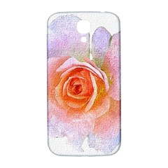 Pink Rose Flower, Floral Oil Painting Art Samsung Galaxy S4 I9500/i9505  Hardshell Back Case by picsaspassion
