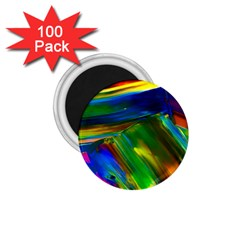 Abstract Acryl Art 1 75  Magnets (100 Pack)  by tarastyle