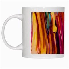 Abstract Acryl Art White Mugs by tarastyle