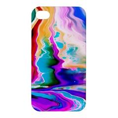 Abstract Acryl Art Apple Iphone 4/4s Hardshell Case