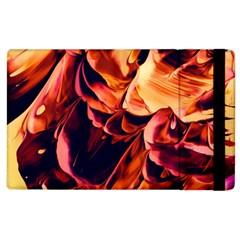 Abstract Acryl Art Apple Ipad 2 Flip Case by tarastyle
