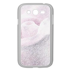 Rose Pink Flower  Floral Pencil Drawing Art Samsung Galaxy Grand Duos I9082 Case (white) by picsaspassion