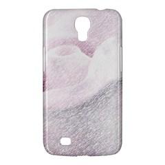 Rose Pink Flower  Floral Pencil Drawing Art Samsung Galaxy Mega 6 3  I9200 Hardshell Case by picsaspassion