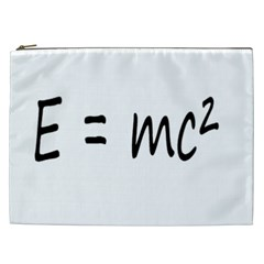 E=mc2 Gravity Formula Physics Cosmetic Bag (xxl)  by picsaspassion