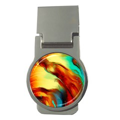 Abstract Acryl Art Money Clips (round)  by tarastyle