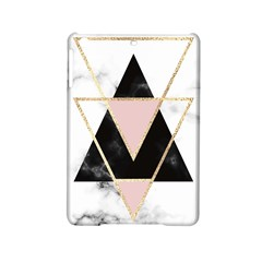Triangles,gold,black,pink,marbles,collage,modern,trendy,cute,decorative, Ipad Mini 2 Hardshell Cases by 8fugoso