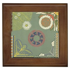 Artnouveau18 Framed Tiles by 8fugoso