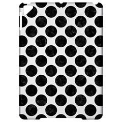 Circles2 Black Marble & White Linen Apple Ipad Pro 9 7   Hardshell Case by trendistuff