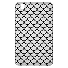 Scales1 Black Marble & White Linen Samsung Galaxy Tab Pro 8 4 Hardshell Case by trendistuff