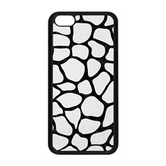 Skin1 Black Marble & White Linen (r) Apple Iphone 5c Seamless Case (black) by trendistuff