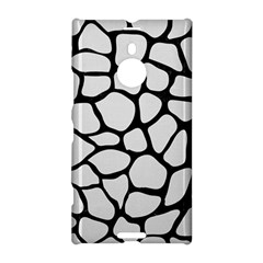 Skin1 Black Marble & White Linen (r) Nokia Lumia 1520 by trendistuff