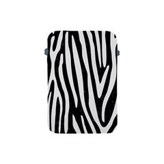 Skin4 Black Marble & White Linen Apple Ipad Mini Protective Soft Cases by trendistuff