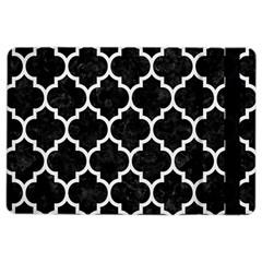 Tile1 Black Marble & White Linen (r) Ipad Air 2 Flip by trendistuff