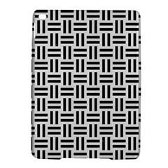 Woven1 Black Marble & White Linen Ipad Air 2 Hardshell Cases by trendistuff
