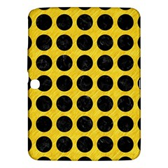 Circles1 Black Marble & Yellow Colored Pencil Samsung Galaxy Tab 3 (10 1 ) P5200 Hardshell Case  by trendistuff