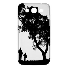Black Father Daughter Natural Hill Samsung Galaxy Mega 5 8 I9152 Hardshell Case  by Mariart