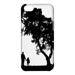 Black Father Daughter Natural Hill Apple Iphone 5c Hardshell Case by Mariart