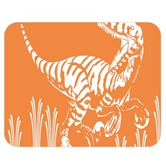 Animals Dinosaur Ancient Times Double Sided Flano Blanket (medium)  by Mariart