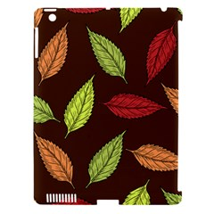 Autumn Leaves Pattern Apple Ipad 3/4 Hardshell Case (compatible With Smart Cover) by Mariart