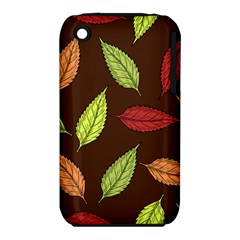 Autumn Leaves Pattern Iphone 3s/3gs by Mariart