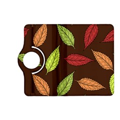 Autumn Leaves Pattern Kindle Fire Hd (2013) Flip 360 Case by Mariart