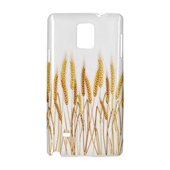 Wheat Plants Samsung Galaxy Note 4 Hardshell Case by Mariart