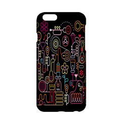 Features Illustration Apple Iphone 6/6s Hardshell Case by Mariart