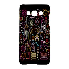 Features Illustration Samsung Galaxy A5 Hardshell Case  by Mariart
