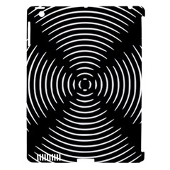 Gold Wave Seamless Pattern Black Hole Apple Ipad 3/4 Hardshell Case (compatible With Smart Cover) by Mariart