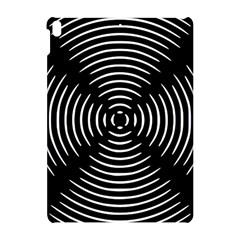 Gold Wave Seamless Pattern Black Hole Apple Ipad Pro 10 5   Hardshell Case by Mariart