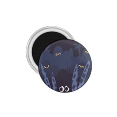 Ghost Halloween Eye Night Sinister 1 75  Magnets by Mariart