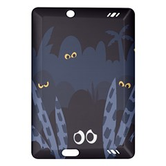Ghost Halloween Eye Night Sinister Amazon Kindle Fire Hd (2013) Hardshell Case by Mariart