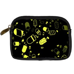 Ice Cream Cool Yellow Digital Camera Cases by Mariart