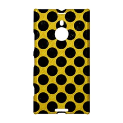 Circles2 Black Marble & Yellow Colored Pencil Nokia Lumia 1520 by trendistuff