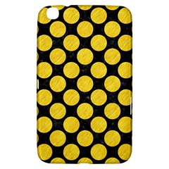 Circles2 Black Marble & Yellow Colored Pencil (r) Samsung Galaxy Tab 3 (8 ) T3100 Hardshell Case  by trendistuff