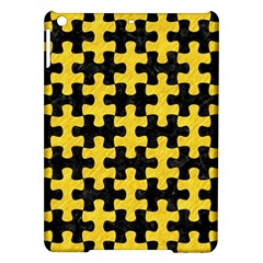 Puzzle1 Black Marble & Yellow Colored Pencil Ipad Air Hardshell Cases