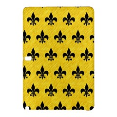 Royal1 Black Marble & Yellow Colored Pencil (r) Samsung Galaxy Tab Pro 12 2 Hardshell Case by trendistuff