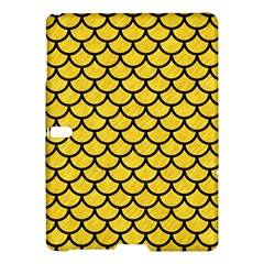 Scales1 Black Marble & Yellow Colored Pencil Samsung Galaxy Tab S (10 5 ) Hardshell Case  by trendistuff