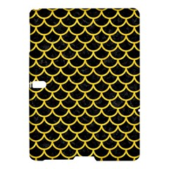 Scales1 Black Marble & Yellow Colored Pencil (r) Samsung Galaxy Tab S (10 5 ) Hardshell Case  by trendistuff
