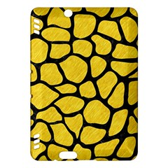 Skin1 Black Marble & Yellow Colored Pencil (r) Kindle Fire Hdx Hardshell Case by trendistuff