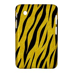 Skin3 Black Marble & Yellow Colored Pencil Samsung Galaxy Tab 2 (7 ) P3100 Hardshell Case  by trendistuff
