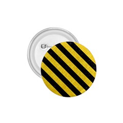 Stripes3 Black Marble & Yellow Colored Pencil 1 75  Buttons by trendistuff