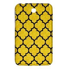Tile1 Black Marble & Yellow Colored Pencil Samsung Galaxy Tab 3 (7 ) P3200 Hardshell Case  by trendistuff