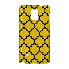 Tile1 Black Marble & Yellow Colored Pencil Samsung Galaxy Note 4 Hardshell Case by trendistuff