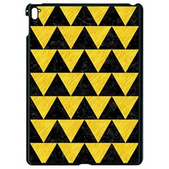 Triangle2 Black Marble & Yellow Colored Pencil Apple Ipad Pro 9 7   Black Seamless Case by trendistuff