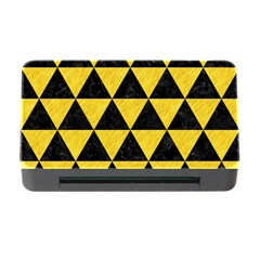 Triangle3 Black Marble & Yellow Colored Pencil Memory Card Reader With Cf by trendistuff