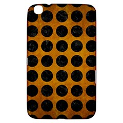 Circles1 Black Marble & Yellow Grunge Samsung Galaxy Tab 3 (8 ) T3100 Hardshell Case  by trendistuff