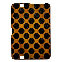 Circles2 Black Marble & Yellow Grunge Kindle Fire Hd 8 9  by trendistuff