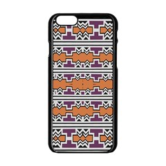 Purple And Brown Shapes                            Iphone 6/6s Tpu Case by LalyLauraFLM
