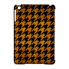 Houndstooth1 Black Marble & Yellow Grunge Apple Ipad Mini Hardshell Case (compatible With Smart Cover) by trendistuff